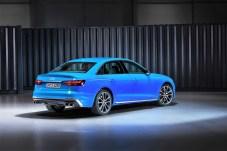 Der Audi S4 - Heckansicht. © Audi