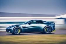 Schnittig: die Silhouette des Aston Martin Vantage. © Aston Martin