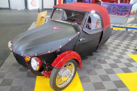 Von 1950 bis 1973 in der Tschechoslowakei gebauter Velorex-Kleinwagen OSKAR