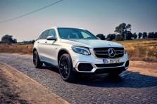 Das einzige, derzeit in Deutschland produzierte Brennstoffzellenauto ist der unverkäufliche Mercedes-Benz GLC F-Cell. Für ausgewählte Kunden gibt es ihn nur zur Miete. Foto: Auto-Medienportal.Net/Mercedes-Benz