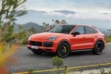 Schöner Schwung: Die Dachlinie ist den Designern des Cayenne Coupé gut gelungen. © Porsche