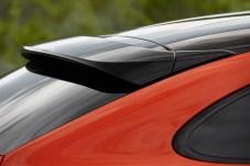 Der Dachspoiler ist fix montiert und unterstreicht den coupéhaften Auftritt. © Porsche