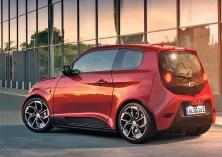 Der e.GO Life ist in der ersten verfügbaren Variante mit einem Hochvolt-Elektromotor mit 60 kW und einer 21,5 kWh Batterie ausgerüstet. © e.GO Mobile AG