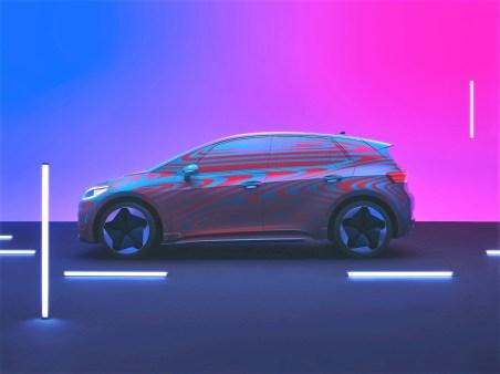 Während der Käfer einst die Massen mobilisierte und der Golf in jeder Generation Innovationen in die nach ihm benannte Klasse gebracht hat, wird der ID. die E-Mobilität für breite Kundengruppen attraktiv machen. © Volkswagen