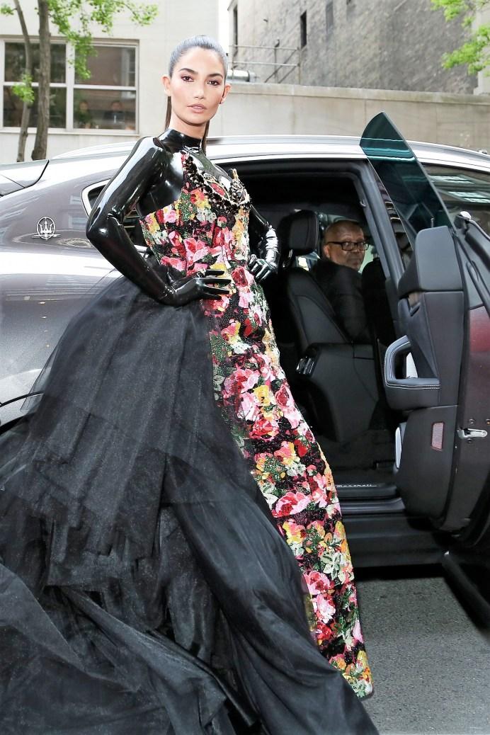 Prominente aus aller Welt faszinierten mit ihren exklusiven Outfits und ihrem besonderen Stil, wie hier Lily Aldridge. © Maserati