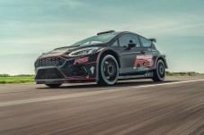 Kraftpaket: Der neue Ford Fiesta R5 ist bereit für sein Rallye-Debüt. © Ford