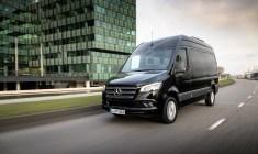 Kein anderes Fahrzeug in der leichten Nutzfahrzeugklasse bietet derzeit mehr Fahrer-Assistenzsysteme. Mercedes-Benz Sprinter. Foto: Auto-Medienportal.Net/Daimler