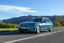 Ab der IAA im Herbst zum Kunden unterwegs: Der neue 3er Touring. © BMW