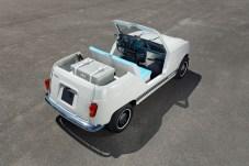 Ein Heck mit Wiedererkennungseffekt: Das Elektroauto ähnelt stark seinem historischen Vorbild - nur optisch. © Renault