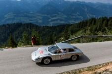 Nur zwei Mal gebaut: Der Porsche 356 B 2000 GS Carrera GT holt 155 PS aus seinem 2-Liter-Boxer-Motor. Immerhin erreicht er damit eine Top-Geschwindigkeit von 235 km/h. © Porsche