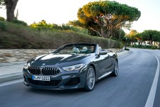 Freiluft-Geschoss: der BMW 850i als Cabriolet. © BMW