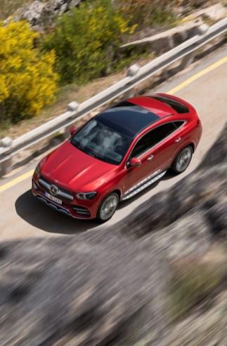 Mercedes-Benz GLE Coupé. Foto: Auto-Medienportal.Net/Daimle