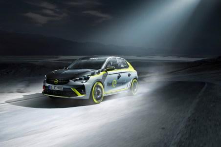 Opel will mit dem Corsa-e den Rallye-Sport elektrisieren. © Opel