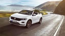 VW bringt im kommenden Jahr eine besondere Variante des T-Roc an den Start: das T-Roc Cabrio. Foto: Volkswagen