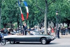 Der Citroen SM, 1995 immer noch im Dienst. Jacques Chirac weiß es zu schätzen. © Citroen