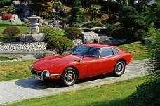 Sollte Jaguar E-Type, Ferrari GTO und der Corvette Konkurrenz machen: So erklärt sich das kühne Design des GT 2000. © Toyota