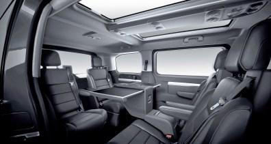 In dieser Version ist der Opel Zafira Life eine Lounge auf Rädern. © Opel