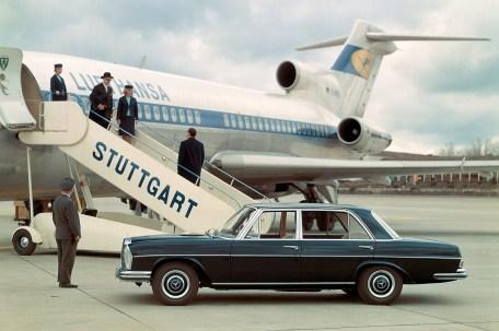 Überflieger: der Mercedes 300 SEL 3,5. Eine zeitlos elegante Erscheinung. © Daimler Mercedes-Benz 300 SEL (W 109, 1966 to 1967).