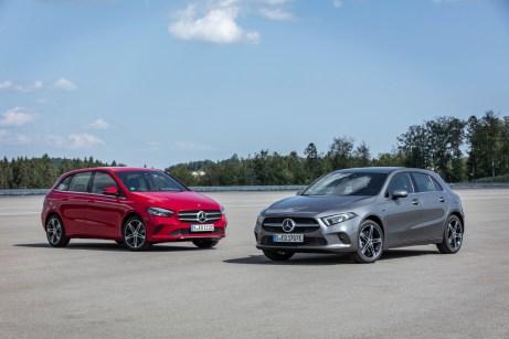 Hybride Zwillinge: Mercedes hat A- und B-Klasse elektrifiziert. © Daimler
