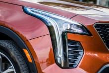 Alle Modelle des Cadillac XT4 haben Front- und Heckleuchten in LED-Ausführung. © Cadillac