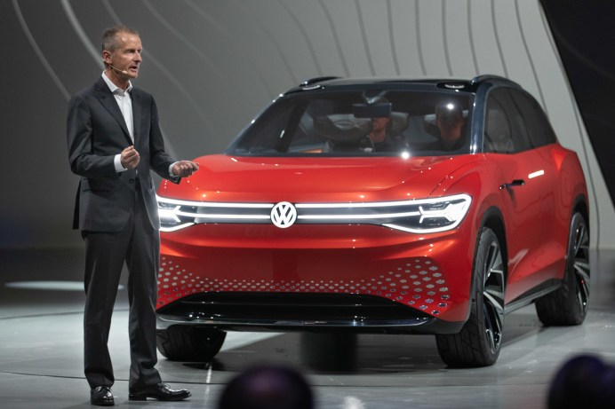 Auch der aktuelle VW-Chef Herbert Diess gerät immer tiefer in den Strudel des Diesel-Skandals. © Volkswagen
