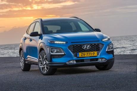Beim Kona Hybrid arbeitet ein 105 PS starker 1,6-Liter-Vierzylinder mit einem 43,5 PS Elektromotor zusammen und produziert so eine Systemleistung von 141 PS. © Hyundai