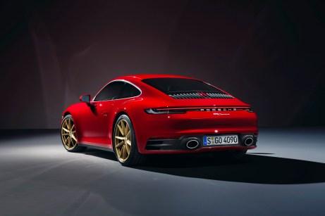Einstiegsdroge: Der Carrera markiert den Start in die 911er-Familie. © Porsche