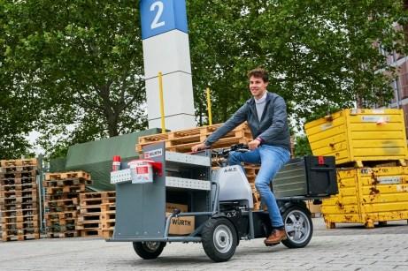 Lastenrad von A-N.T. Foto: Auto-Medienportal.Net/Bosch