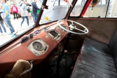 Busfest 2019: Samba-Bus von 1954 als Rechtslenker. Foto: Auto-Medienportal.Net/Volkswagen