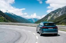 Auch die Heckpartie ist eher konventionell gestaltet. © Audi