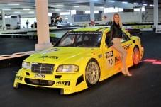 Aus dem Jahr 1996 stammt das Testfahrzeug von Bernd Schneider und Bernd Mayländer.