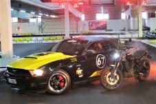 Die Indian FTR 1200 kommt im exklusiven Design des Mustang Owners Club daher.
