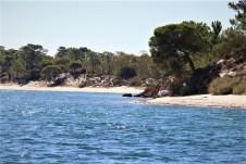 60 Kilometer zumeist einsamer Sandstrand können die Gäste des Alentejo für sich nutzen. © Kurt Sohnemann