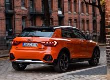 Ein paar Ecken und Kanten lassen des A1 citycarver markant erscheinen. © Audi