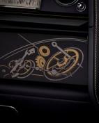 """Im Innenraum des Rolls-Royce Phantom """"Horology"""" sind Motive der Uhrmacherkunst zu sehen. © Rolls-Royce"""