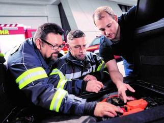ZF-Training für Feuerwehrkräfte. Foto: Auto-Medienportal.Net/ZF