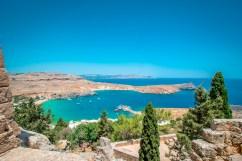 TUI ist Marktführer in Griechenland (im Bild LIndos) und bietet Urlaubern zur Sommersaison 2020 das größte Hotelportfolio aller Zeiten.