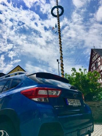Der Subaru XV ist ein perfekter Geländegänger, der es durchaus mit so manchem echten SUV aufnehmen kann. © Klaus H. Frank