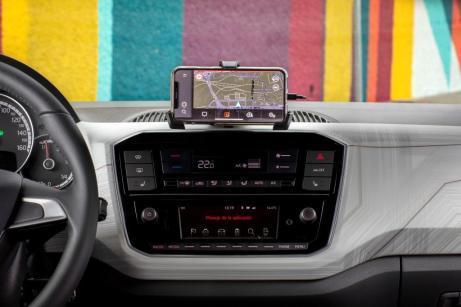 n Sachen Konnektivität ist SEAT gewohnt gut aufgestellt – vor allem beim neuen SEAT Mii electric. Deshalb ist er als erstes Modell der Marke mit SEAT Connect ausgestattet. © Seat