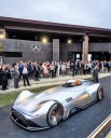 Weltpremiere des Mercedes-Benz Showcars Vision EQ Silver Arrow in Pebble Beach 2018. © Daimler
