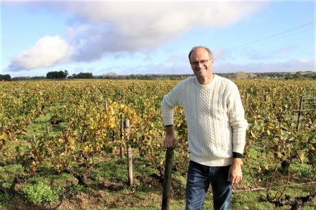 Therry Michon gehört zu den Winzern mit herausragenden Erfolgen bei der Produktion von Bio-Wein in Frankreich. © Kurt Sohnemann