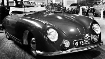Porsche 356/2 Cabrio (1950), Wien. © Porsche
