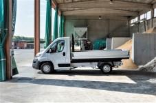 Sehr gefragt bei Bauunternehmen: der Ducato als Pritschenwagen. © Fiat