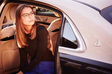 Für den Durchblick: Im großen Maybach-Set befindet sich auch eine Brillen-Kollektion. © Daimler