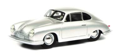 """Porsche 356 """"Gmünd"""" von Schuco (1:43). Foto: Auto-Medienportal.Net/Delius-Klasing-Verlag"""