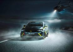 Der Opel Corsa-e-Rallye © Opel