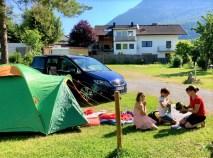 Schnell mal mit dem Zelt zum Picknick fahren - der Alhambra ist der ideale Partner. © Klaus H. Frank