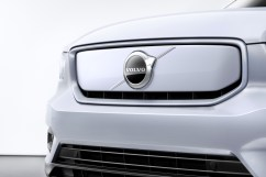 Kühlergrillform ohne Schlüsselerkennung: kompatibel mit der Optik eines Stromers. © Volvo