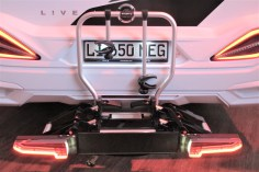 Solide gemacht ist der neue Heckträger e-carry für viele Reisemobile.