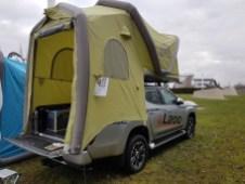 """Luftzelt """"Gentle Tent"""". Foto: Auto-Medienportal.Net/Michael Kirchberger"""